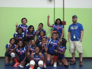 2014 Middle School Volleyball Championship