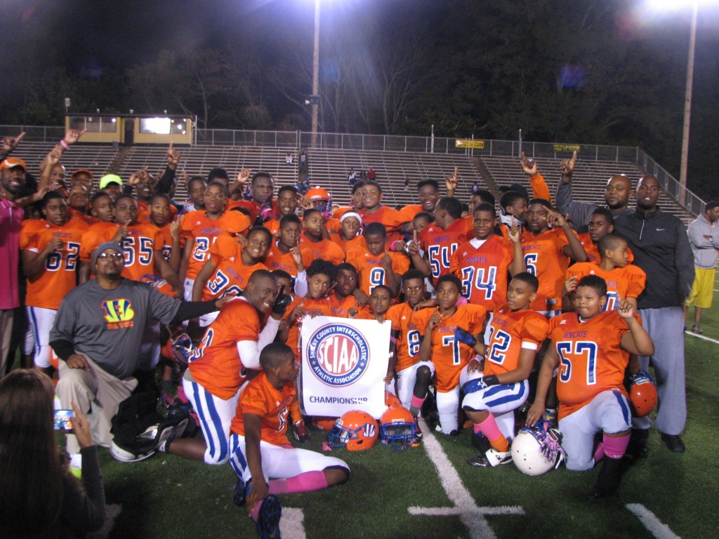 2014 Middle School Football Champions
