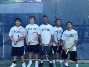 SCIAA Tennis Team Champions