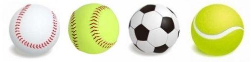 baseball softball soccer tennis