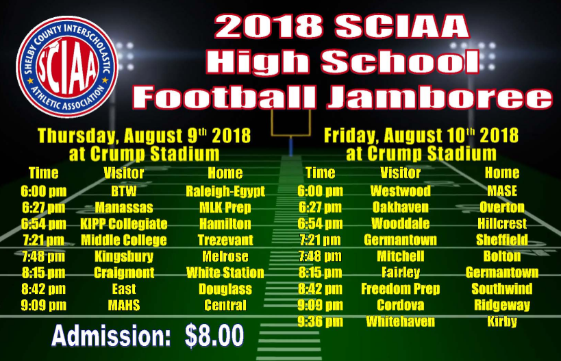 2018 High School Football Jamboree