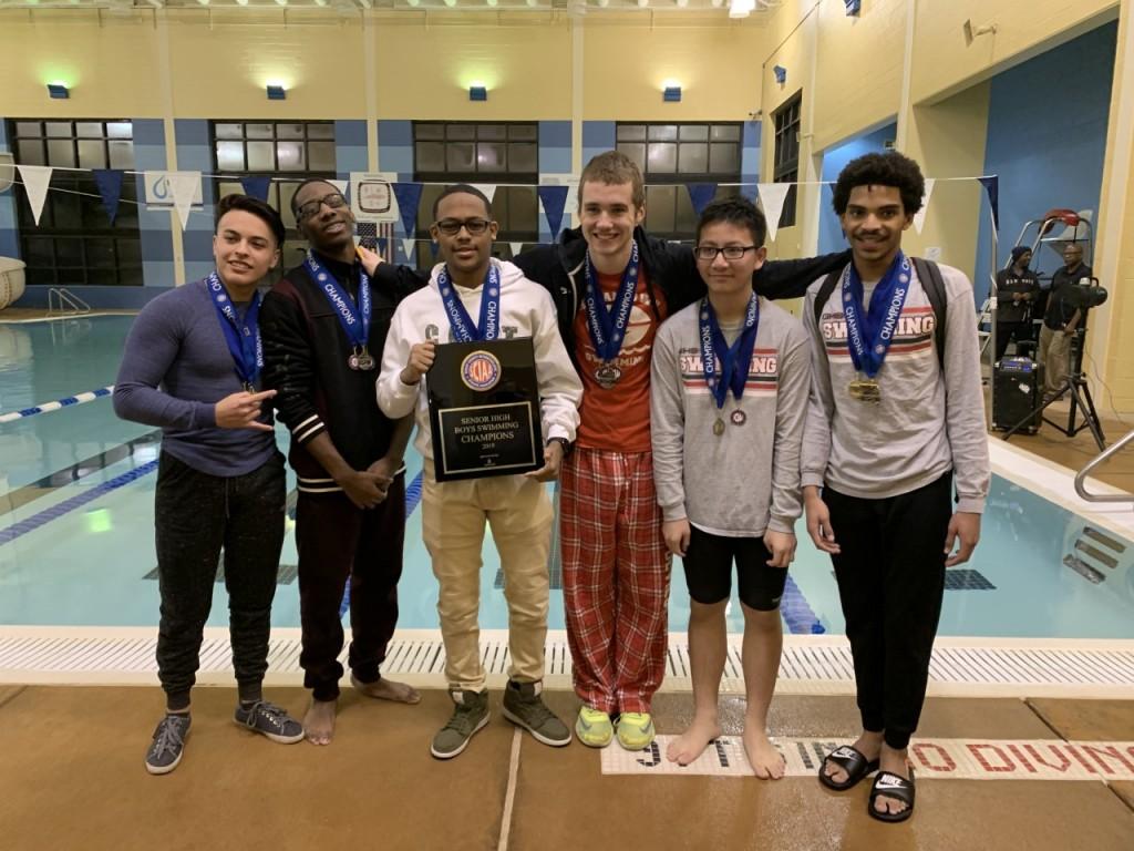 2019 Germantown Boys Swim
