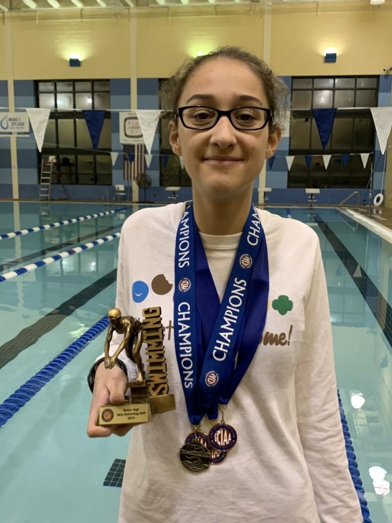 Cohn, MVP Girls Swim 2019
