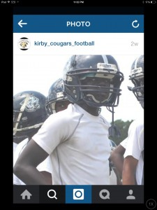 Kirby Middle Football Spring 2015