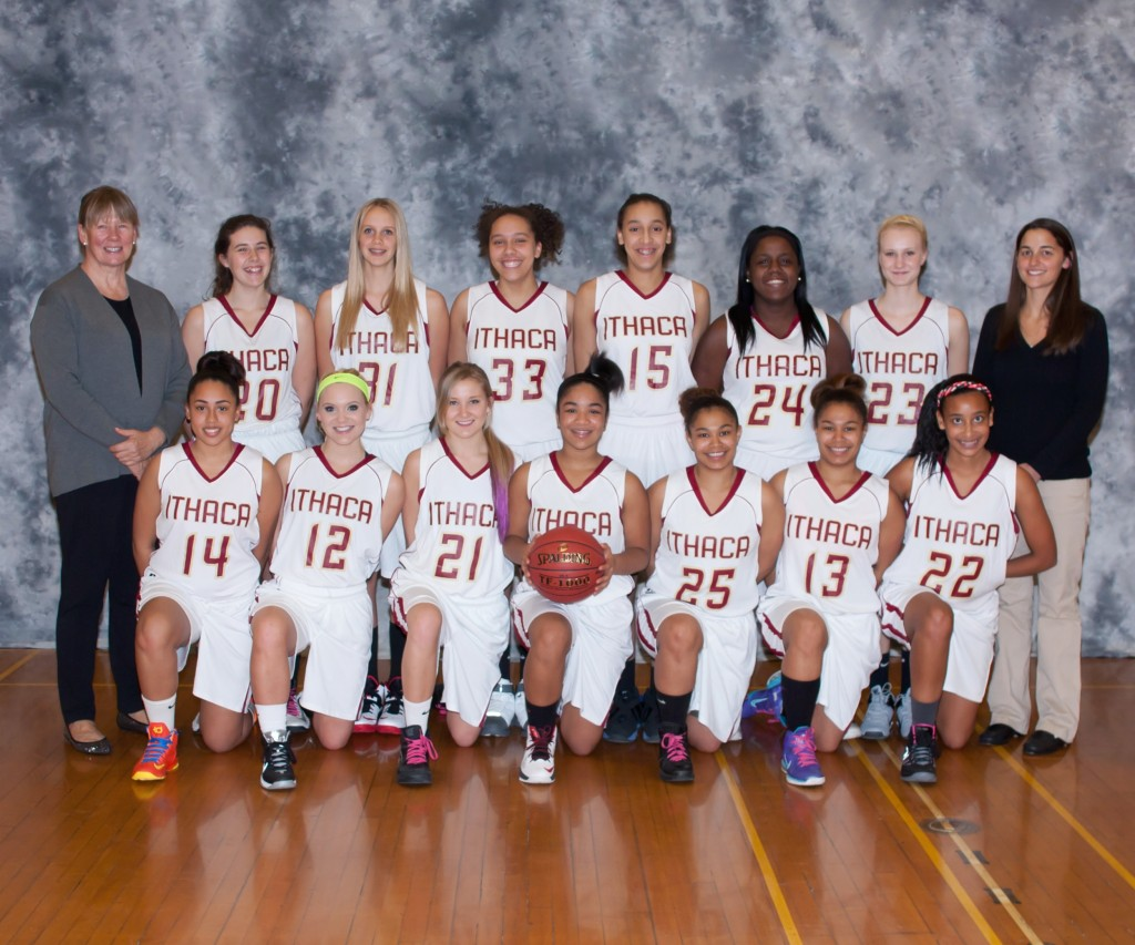 Ithaca city school district sports girls varsity basketball team publicscrutiny Choice Image
