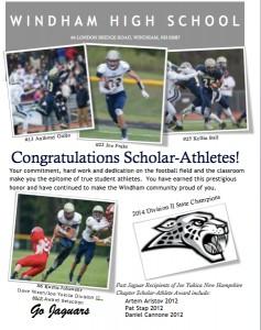 Four Jaguars Selected to Joe Yukica Football Foundations Scholar-Athletes