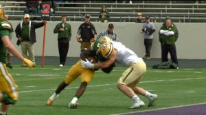 No. 5 St. Edward dominate No. 36 St. Joseph Regional in 42-0 shutout