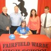 Fairfield Warde High School Senior Signs College Commitment