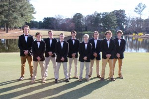2017 Men's Golf Team
