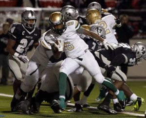 DeSoto post eight touchdowns in win over Arlington Martin