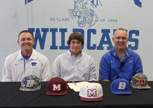 Austin Roby sign's with Maryville College