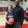 Stipano joins 500 point club in Girls' Basketball