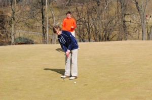 Falcons Edge Cardinal golfers in season opener
