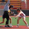 Cardinals girls lacrosse split in clash of top ranked teams