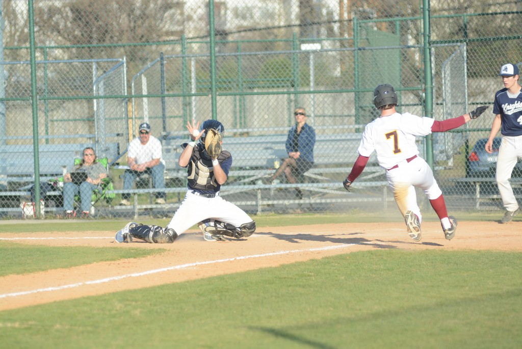 7-run 5th chases Mustangs in baseball action
