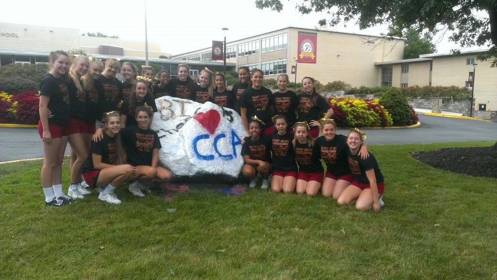Cardinal Cheerleaders Ready to Soar!