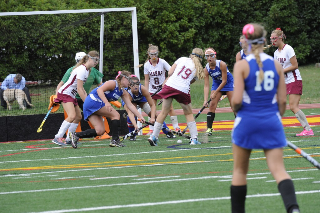 Field Hockey eases by Elizabeth Seton, 2-0