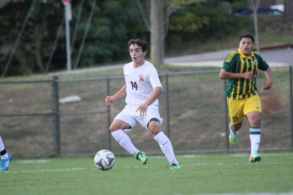 Cardinals edged by Stags, top Wolves in Boys' Soccer
