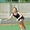 Tennis triumphs on senior day home finale