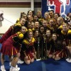 Cheerleaders claim CCA regional title in Richmond Saturday