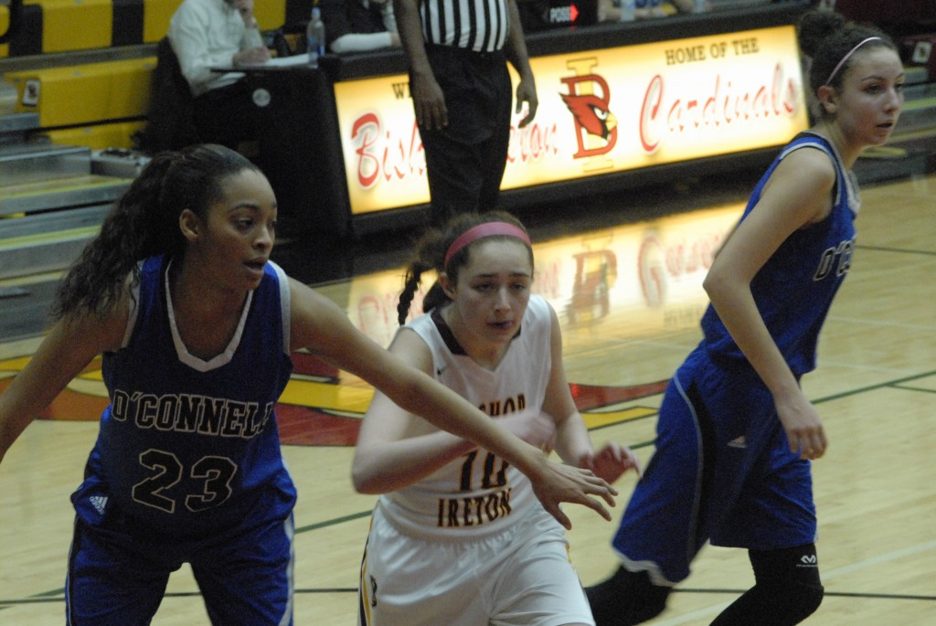 Bishop Ireton edged late in Arlington, 64-52