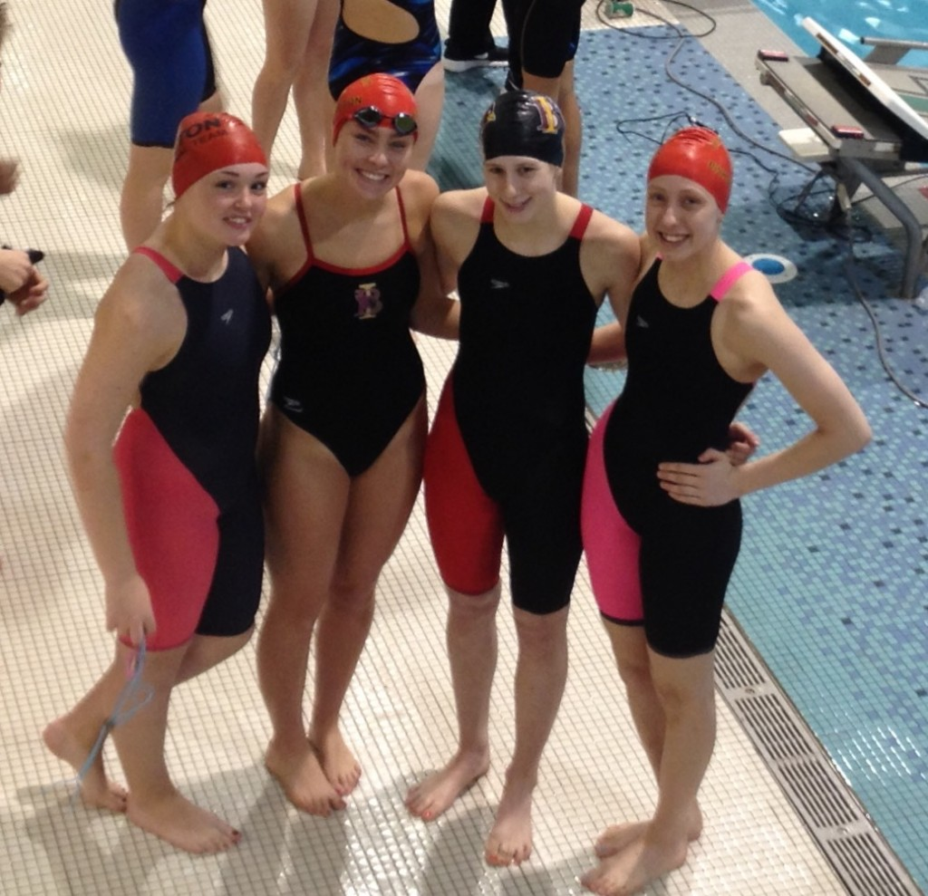 School Records fall at Catholic National swim championships
