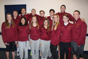 Swimmers break more School marks at state championships