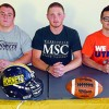 Gridiron Stars Make College Selections
