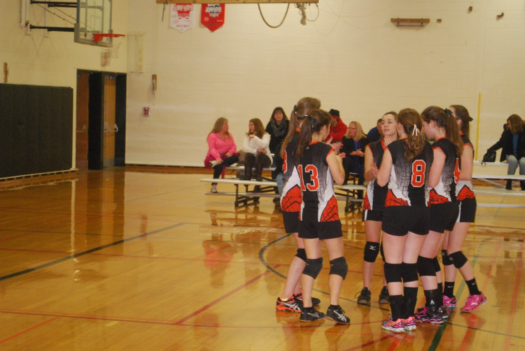 Volleyball takes on Sauquoit