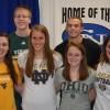 Columbus North Signees: Josh, Devin, Marah, Ali, Maddie, and Kelsay