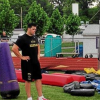 Lohr takes part in PAHS football camp