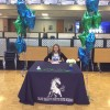 Blue Valley North High School Senior Signs College Commitment