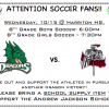 Soccer Night at Harriton High School- 10/15