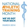 March is National Athletic Training Month