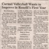 CHS Volleyball looks to Improve under Rinella's First Year