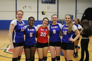 Varsity Volleyball Seniors!