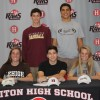 Nine Harriton High School Athletes Sign College Commitments
