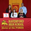 Four Haverford High School Athletes Sign College Commitments