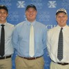 Three St. Xavier Seniors Sign College Commitments