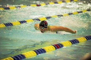 Girls swimming: Martin, Cullen are fit to be tied in 100 free