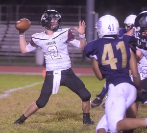 Sean Mullarkey passed for 168 yards to help Radnor earn a 23-21 decision over Strath Haven Friday night.