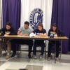 Four St. Francis DeSales High School Athletes Sign College Commitments