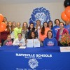 Marysville Student Athlete Signs College Commitment