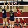 Girls Volleyball: Penncrest overcomes sizable disadvantage