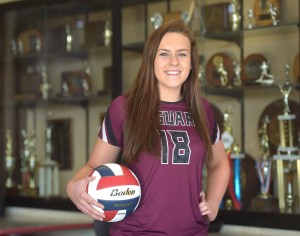 Garnet Valley Rachel Cain is the 2018 Daily Times Girls Volleyball Player of the Year. (Pete Bannan/Digital First Media)