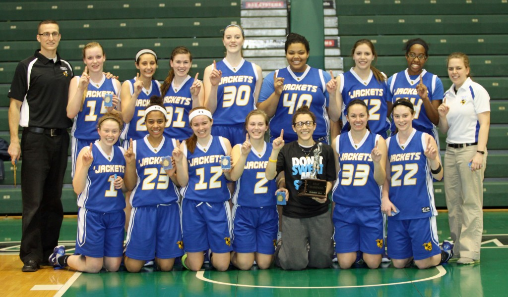 Oneonta Girls Varsity Basketball Champions 2012
