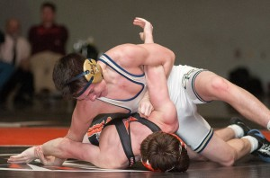 Council Rock South Beats Pennsbury in Wrestling Match